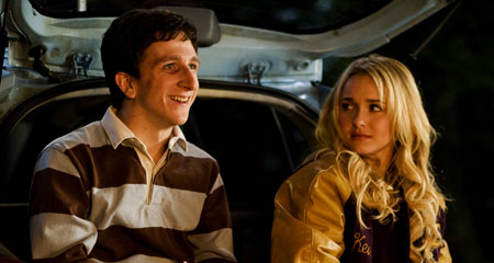Denis Cooverman (Paul Rust) and Beth Cooper (Hayden Panettiere) in I LOVE YOU, BETH COOPER.  Photo credit: Joe Lederer