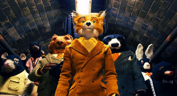 Mr. Fox (George Clooney) and friends. Photo Credit: Courtesy of Fox Searchlight Pictures